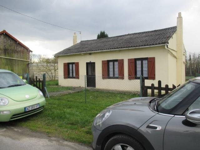 Vente - Maison / villa - BERTAUCOURT EPOURDON - 60 m² - 4 pièces - mandat 22