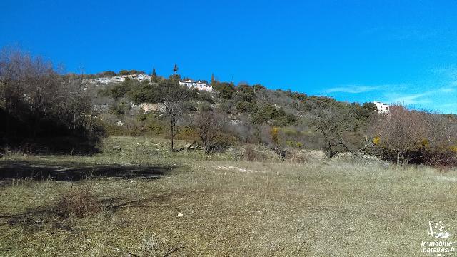 Vente - Terrain agricole - Simiane-la-Rotonde - 1200.00m² - Ref : SIM-FEM