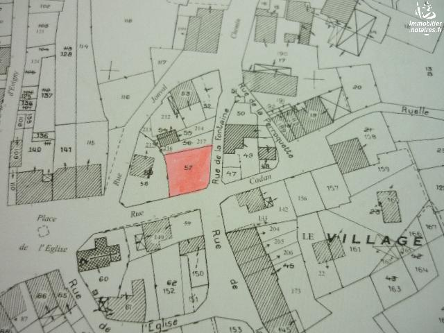Vente - Terrain - CHAMPIGNEUL SUR VENCE - 387 m² - CSV