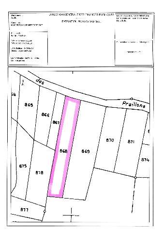 Vente - Terrain - MAIZIERES LA GRANDE PAROISSE - 3883 m² - TA-MAL/130418