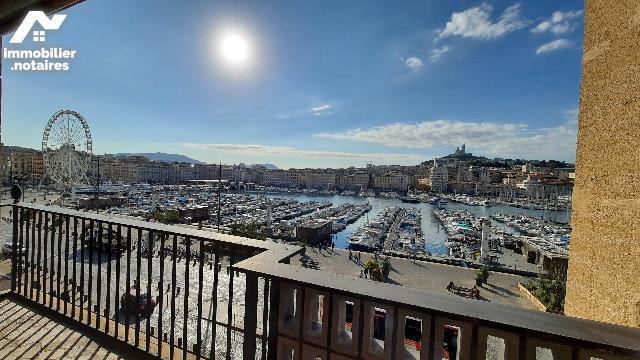 Vente Notariale Interactive - Appartement - Marseille 2e Arrondissement - 94.0m² - 3 pièces - Ref : marseille vieux port