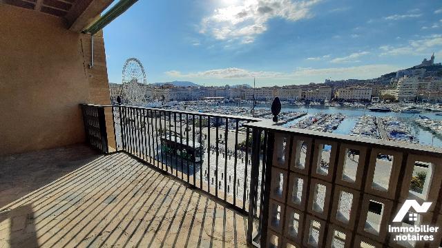 Vente Notariale Interactive - Appartement - Marseille 2e Arrondissement - 53.0m² - 2 pièces - Ref : marseille vieux port T2