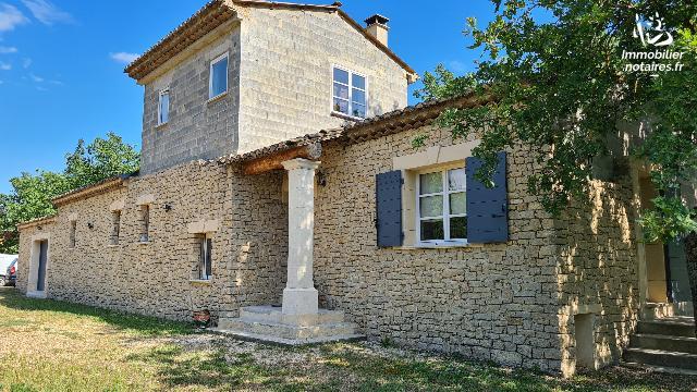 Vente Notariale Interactive - Maison - Gordes - 195.0m² - 5 pièces - Ref : 13051-VNI-916260