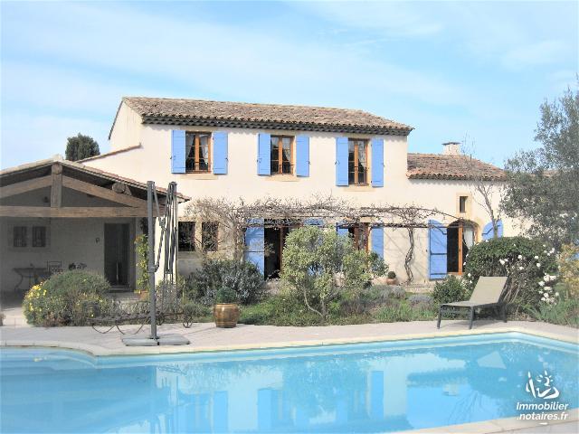 Vente - Maison - Saint-Rémy-de-Provence - 195.00m² - 5 pièces - Ref : AVRIL 174