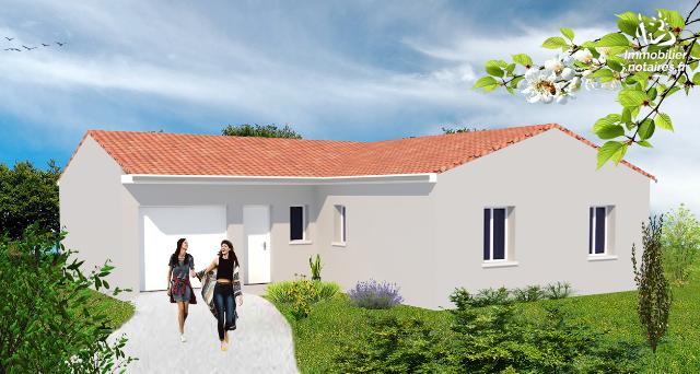 Vente - Maison - Ruffec - 90.83m² - 4 pièces - Ref : M207L8