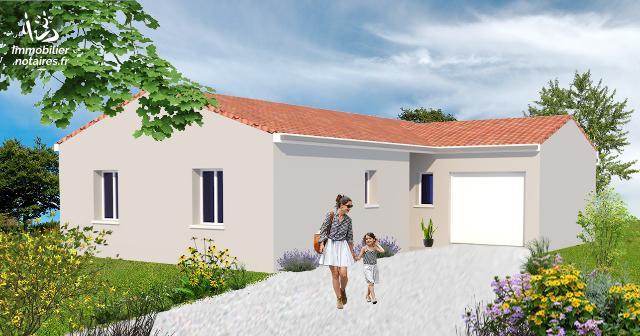 Vente - Maison - Ruffec - 87.80m² - 4 pièces - Ref : M208L9