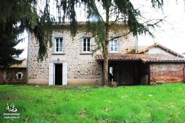 Vente - Maison - Exideuil - 96.0m² - 5 pièces - Ref : C741
