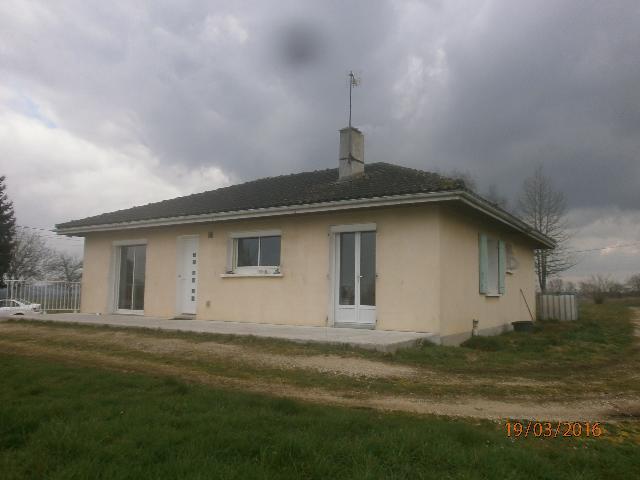 Vente - Maison - Pressignac - 103.00m² - 5 pièces - Ref : C194