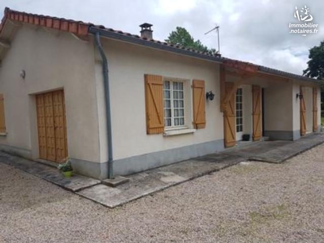 Vente - Maison - Chassenon - 78.00m² - 5 pièces - Ref : EC325