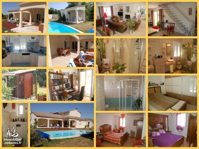 Vente - Maison - Chabanais - 137.00m² - 5 pièces - Ref : EC627