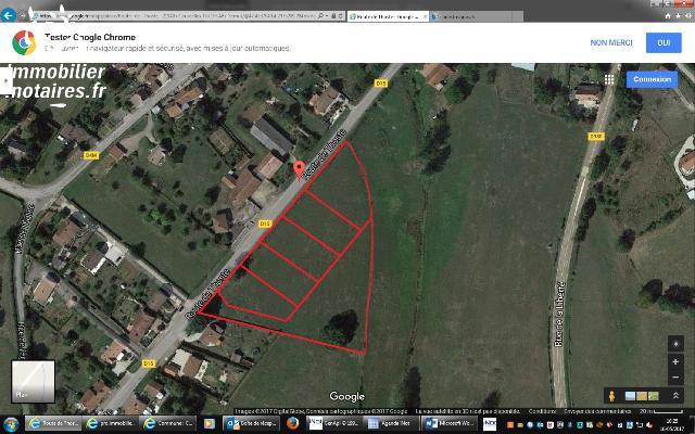 Vente - Terrain - COURCELLES LES SEMUR - 1200 m² - 1001353