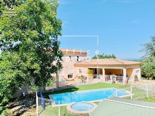 Vente - Maison - Salazac - 215.00m² - 8 pièces - Ref : 20200703