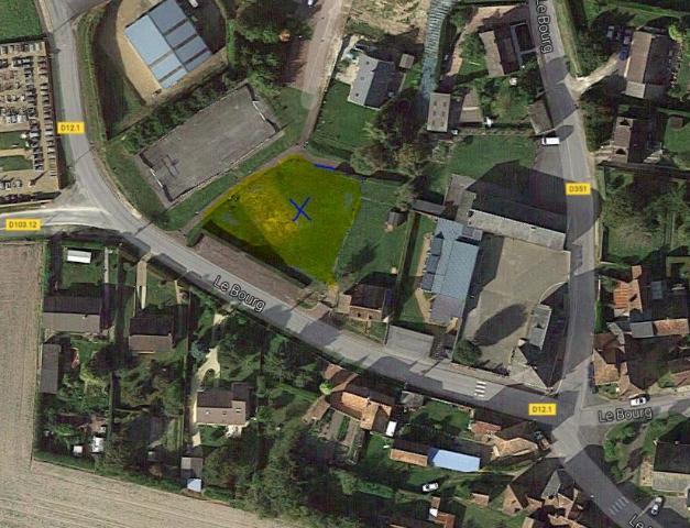 Vente - Terrain à bâtir - Coudreceau - 721.00m² - Ref : COU.05