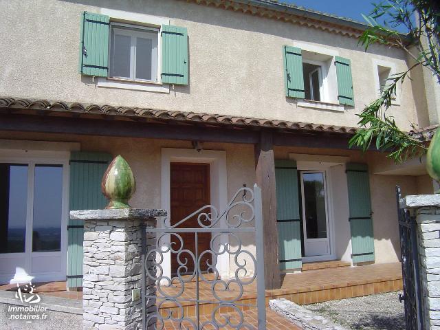 Location - Maison - Sauzet - 95.00m² - 4 pièces - Ref : locsau