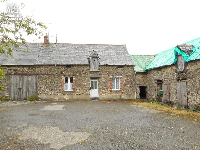 Vente - Maison - Saint-Aubin-des-Landes - 65.00m² - 2 pièces - Ref : 88800