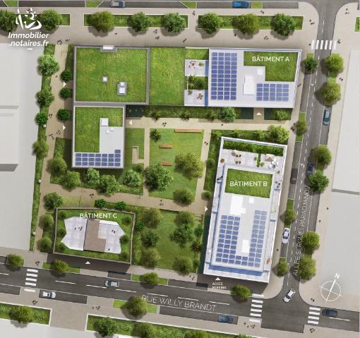 Location - Appartement - Villeurbanne - 3 pièces - Ref : APP_ROST