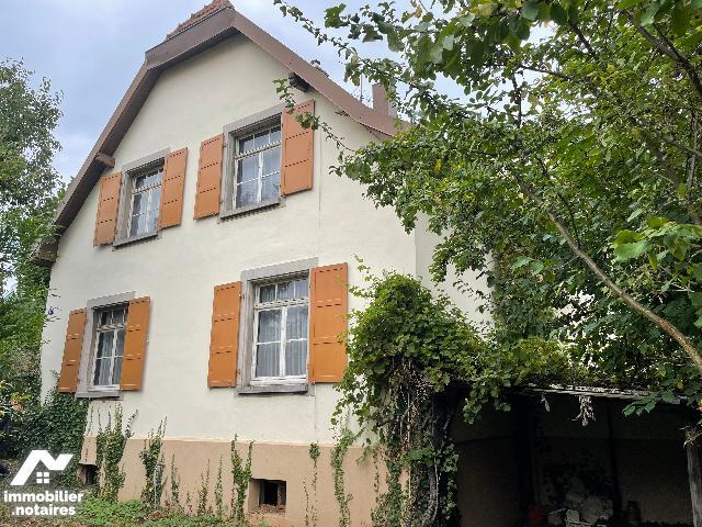 Vente Notariale Interactive - Maison - Strasbourg - 140.0m² - 6 pièces - Ref : Maison à STRASBOURG ROBERTSAU