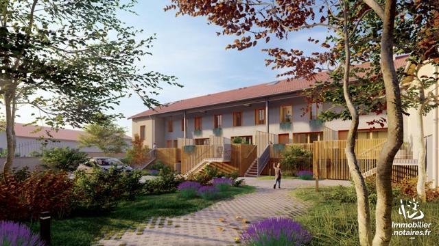 Vente - Appartement - Corbas - 4 pièces - Ref : Corbas T4 en Triplex avec jardin