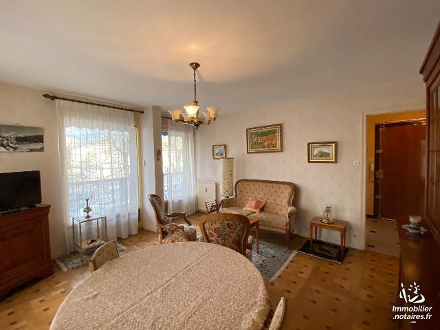 Vente Notariale Interactive - Appartement - Chambéry - 52.52m² - 2 pièces - Ref : VNI ROISSARD