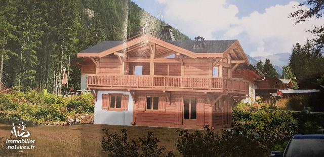 Vente - Terrain à bâtir - Chamonix-Mont-Blanc - 2727.00m² - Ref : TERRAIN ARGENTIERE