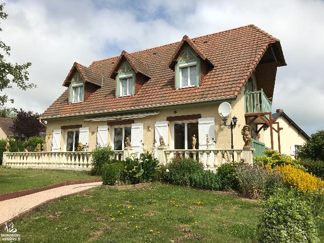 Vente - Maison / villa - ST VALERY EN CAUX - 130 m² - 5 pièces - 20084296