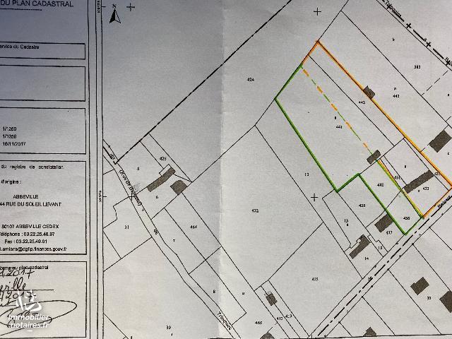 Vente - Terrain agricole - Huppy - 3500.00m² - Ref : 80114-07112019