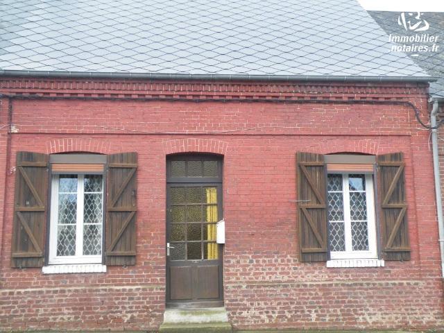 Vente - Maison - Friville-Escarbotin - 43.00m² - 2 pièces - Ref : 80116-267