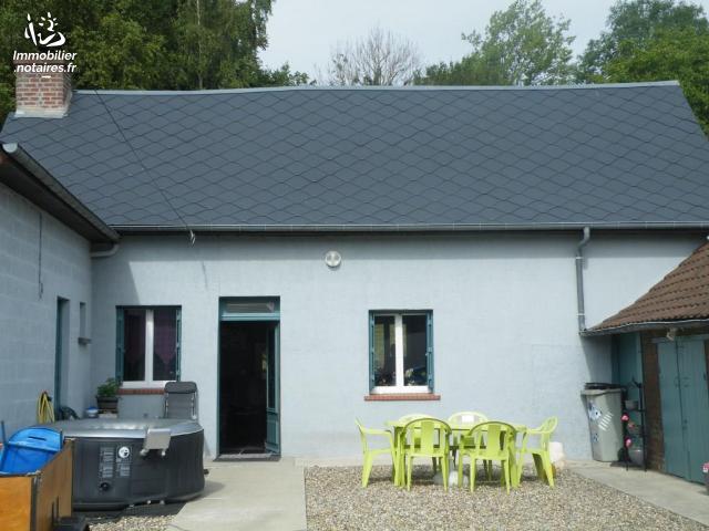 Vente - Maison - Friville-Escarbotin - 75.00m² - 3 pièces - Ref : 80116-349