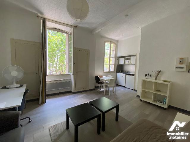 Vente Notariale Interactive - Appartement - Avignon - 23.0m² - 1 pièce - Ref : 633