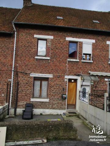 Vente - Maison - Hirson - 80.00m² - 4 pièces - Ref : HIRS254