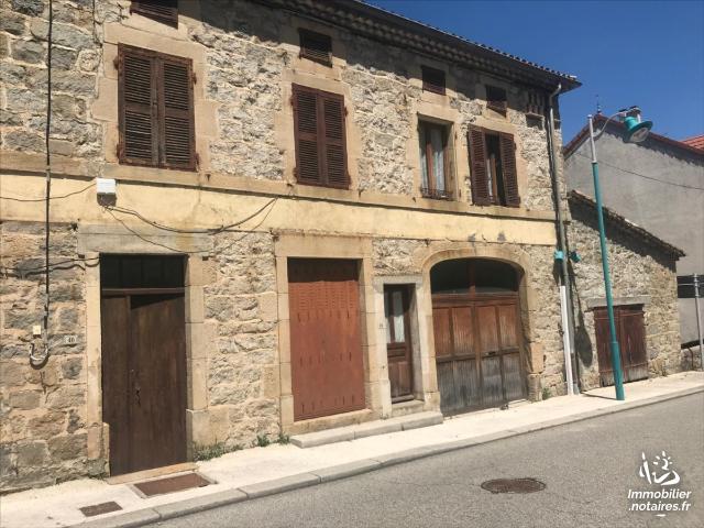 Vente - Maison - Saint-Sauveur-de-Montagut - 103.00m² - 4 pièces - Ref : 1584