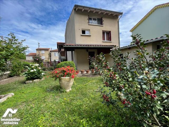Vente - Maison - Guilherand-Granges - 88.0m² - 5 pièces - Ref : 1633