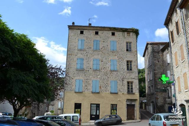 Vente - Immeuble - Largentière - 167.0m² - Ref : 1875 M
