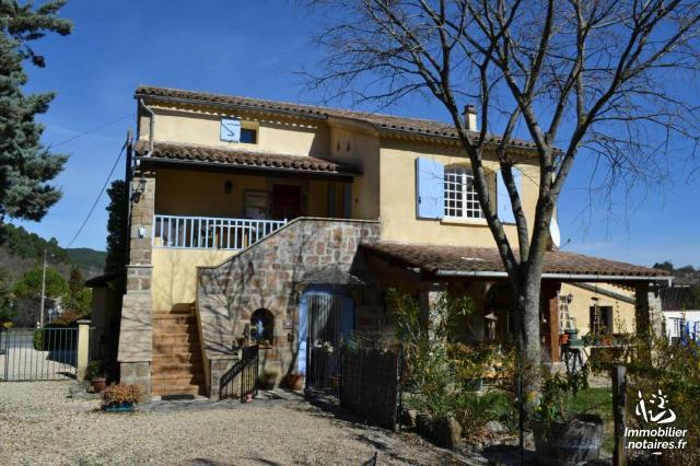 Vente - Maison - Saint-Paul-le-Jeune - 180.00m² - 9 pièces - Ref : 1957 M