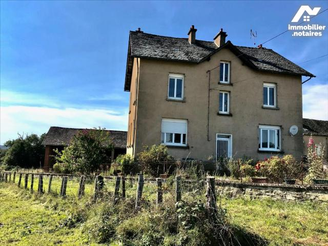 Vente - Maison - Naucelle - 160.0m² - 7 pièces - Ref : LJ980