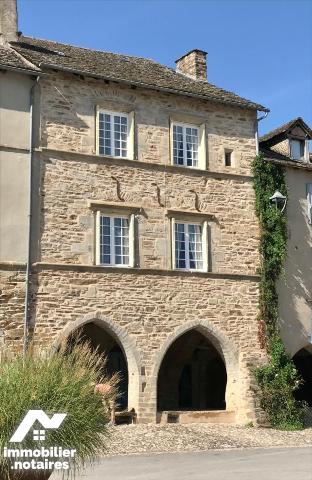 Vente - Maison - Sauveterre-de-Rouergue - 164.0m² - 9 pièces - Ref : LJ990