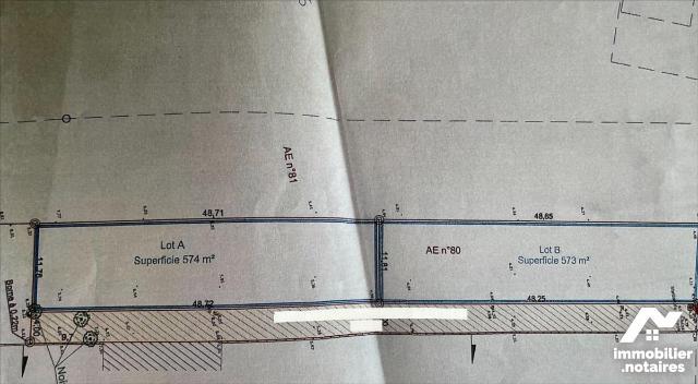 Vente - Terrain - Charron - 1147.0m² - Ref : BR 303