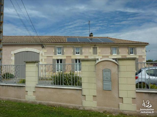 Vente - Maison - Montendre - 135.00m² - 6 pièces - Ref : 1330