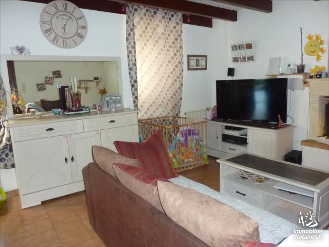 Vente - Maison - Jonzac - 86.00m² - 5 pièces - Ref : 1383