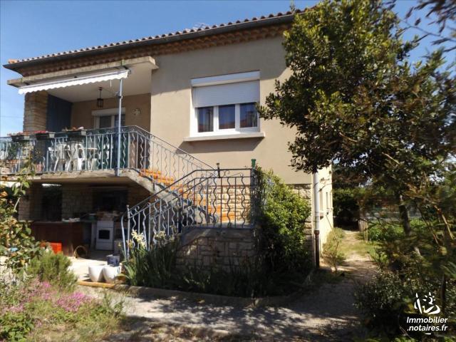 Vente - Maison - Bagnols-sur-Cèze - 87.54m² - 4 pièces - Ref : 3051854