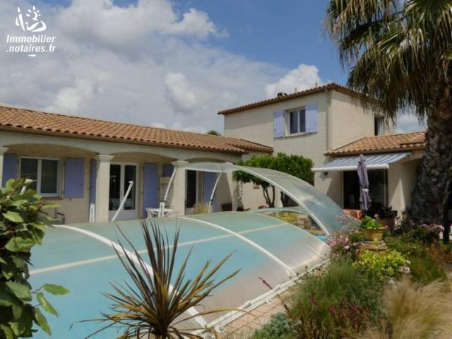 Vente - Maison - Florensac - 141.00m² - 7 pièces - Ref : DD-286820