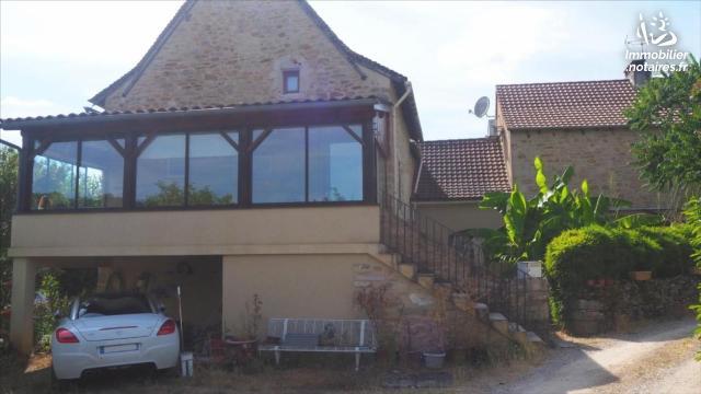 Vente - Maison - Villeneuve - 65.00m² - 4 pièces - Ref : 19.087B