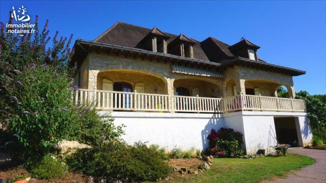 Vente - Maison - Capdenac-Gare - 230.00m² - 7 pièces - Ref : 19.094