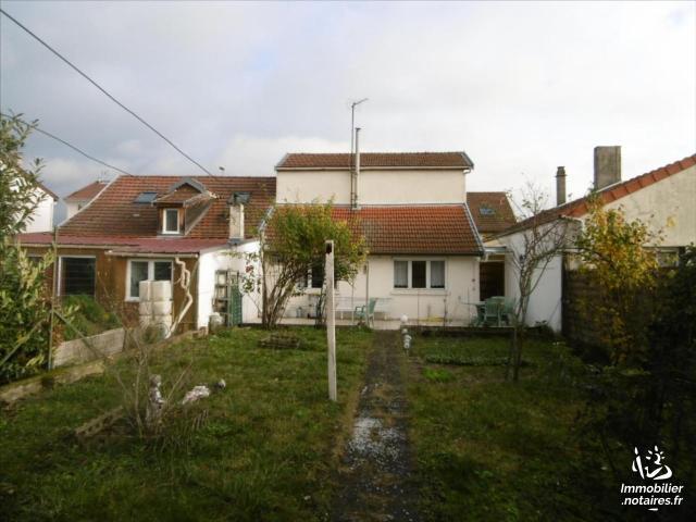 Vente - Maison - Reims - 64.00m² - 3 pièces - Ref : 4108