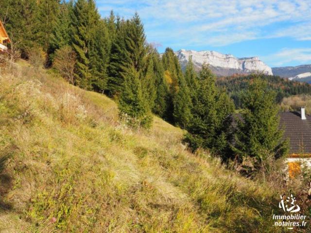 Vente - Terrain à bâtir - Saint-Pierre-d'Entremont - 838.00m² - Ref : 73014-303989