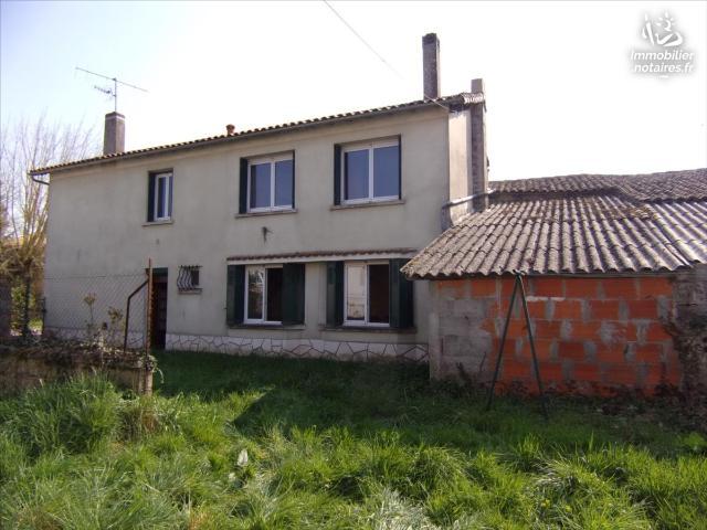 Vente - Maison - Paizay-Naudouin-Embourie - 158.1m² - 9 pièces - Ref : 21 427