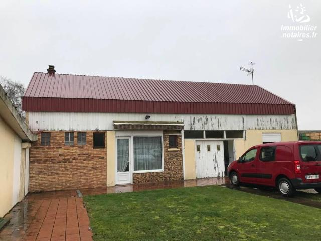 Vente - Maison - Nesle - 115.00m² - 3 pièces - Ref : 80103-318585
