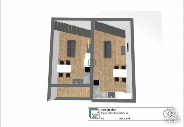 Vente - Maison - Bellegarde - 60.00m² - 3 pièces - Ref : 30017-3
