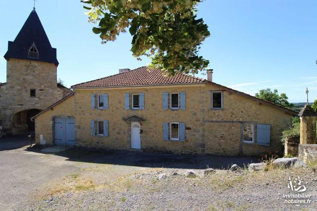 Vente - Maison - Castelnau-Tursan - 260.0m² - 5 pièces - Ref : 32052-32