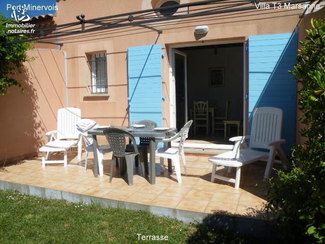 Vente - Maison - Homps - 61.0m² - 3 pièces - Ref : 59098-11203